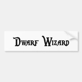 Dwarf Wizard Bumper Sticker