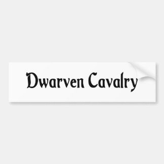 Dwarven Cavalry Sticker