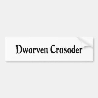 Dwarven Crusader Bumper Sticker