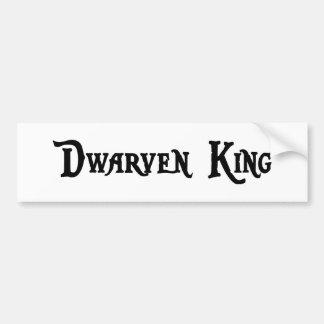 Dwarven King Bumper Sticker