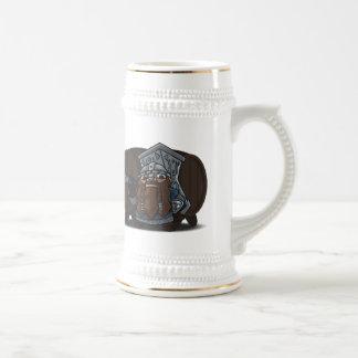 Dwarven Warrior Tankard Beer Stein