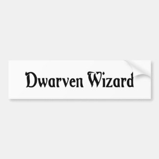 Dwarven Wizard Sticker