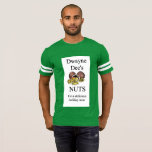 Dwayne Dee's Nuts Christmas Football Shirt for him
