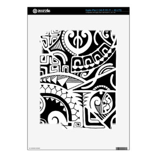 Dwayne Johnson tattoo design Polynesia Skin For iPad 3
