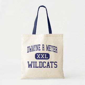 Dwayne R Meyer Wildcats Middle River Falls Canvas Bag