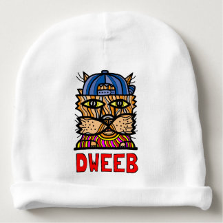 """""""Dweeb"""" Baby Cotton Beanie"""