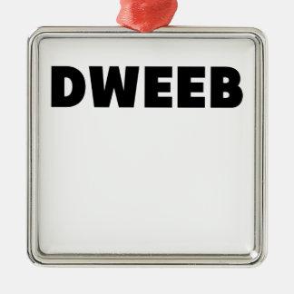 dweeb.png metal ornament
