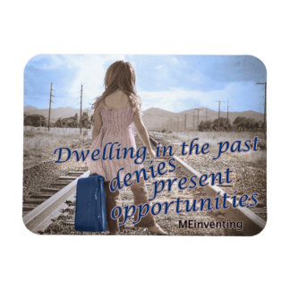 Dwelling in the past magnet
