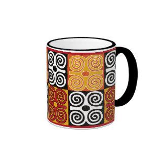 Dwennimmen African Adinkra Print Mug