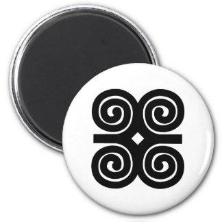 Dwennimmen - Strength and Humility Adinkra Symbol Magnet
