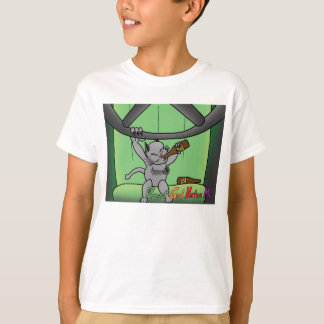 DWI God Kitty Kid's T T-Shirt