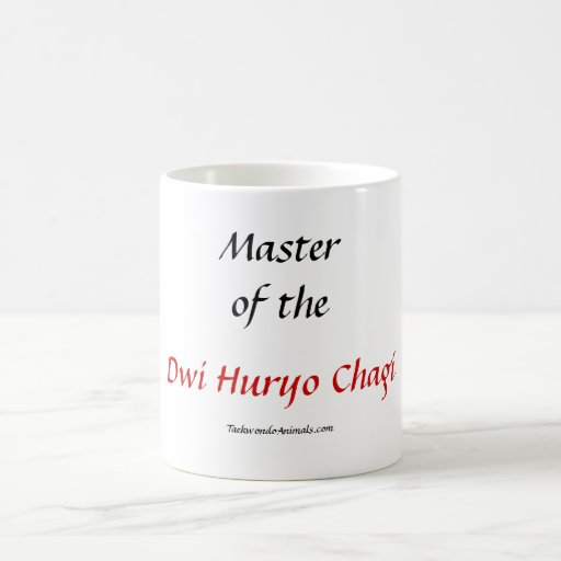 Dwi Huryo Chagi Taza Básica Blanca