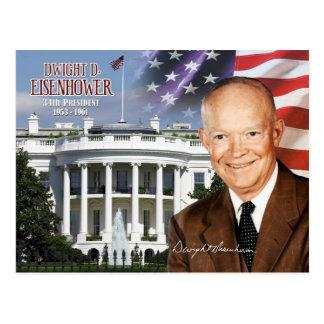Dwight D. Eisenhower - 34to presidente de los Postales