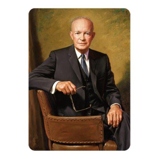 Dwight D. Eisenhower 5x7 Paper Invitation Card