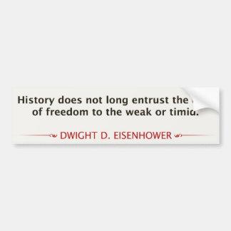 Dwight D. Eisenhower Car Bumper Sticker