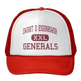 Dwight D Eisenhower - Generals - Middle - Laurel Trucker Hat