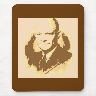 Dwight D Eisenhower Mouse Pad