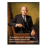 Dwight_D._Eisenhower official portrait Postcard