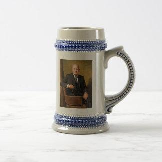 Dwight D Eisenhower Official Presidential Portrait Beer Stein