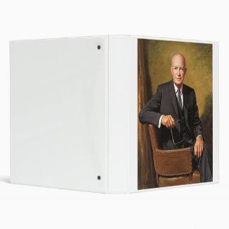 Dwight D Eisenhower Official Presidential Portrait Binder