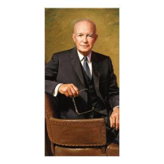 Dwight D Eisenhower Official Presidential Portrait Photo Card Template