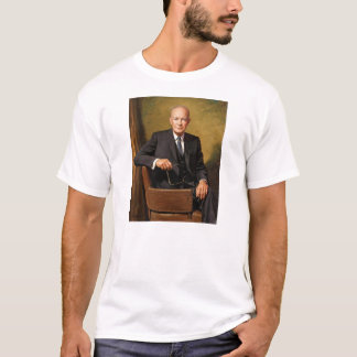 Dwight D Eisenhower Official Presidential Portrait T-Shirt