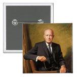 Dwight D. Eisenhower Pin Cuadrada 5 Cm