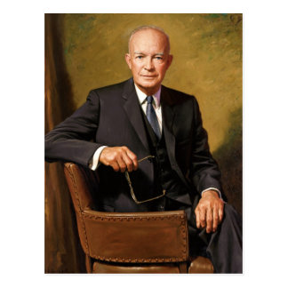Dwight D. Eisenhower Postcard