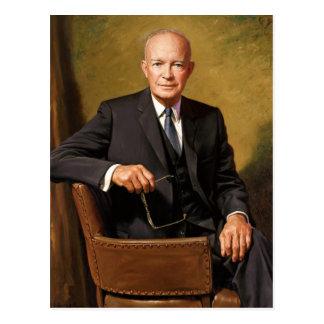 Dwight D. Eisenhower Postcard