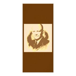 Dwight D Eisenhower Rack Card