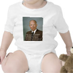 Dwight D. Eisenhower White House portrait Baby Bodysuit