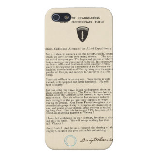 Dwight D. Eisenhower's Order of the Day (1944) iPhone SE/5/5s Cover