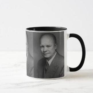 Dwight D. Eiserhower Portrait Mug