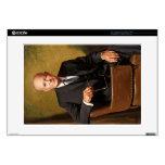 "Dwight Eisenhower Decals For 15"" Laptops"