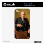 Dwight Eisenhower iPhone 4S Decal