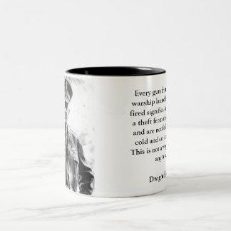 Dwight Eisenhower on Military Spending Mug