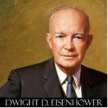 Dwight Eisenhower Photo Sculpture