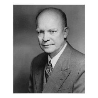 Dwight Eisenhower Poster