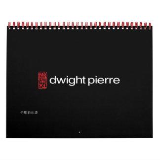 dwight pierre 15 month calendar