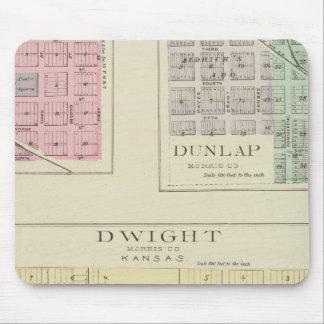 Dwight, Wilsey, Dunlap, Kansas Mouse Pad
