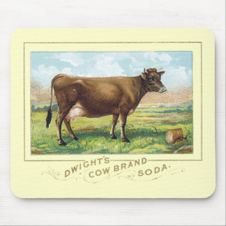 Dwight's Cow Brand Soda Mouse Pad