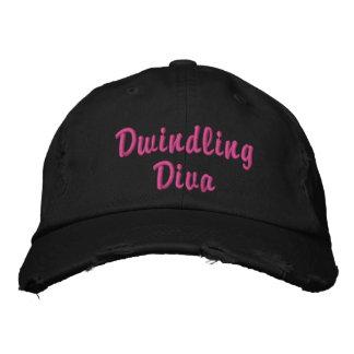 Dwindling Diva distressed cap