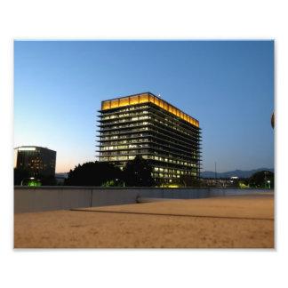 DWP Building Photo Art