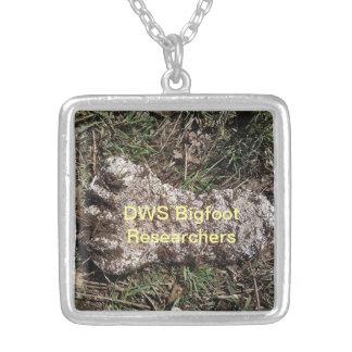 DWS Bigfoot Researchers Casting Necklace