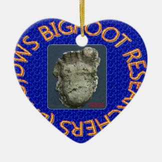 dws bigfoot researchers ceramic ornament