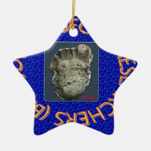 dws bigfoot researchers christmas ornaments