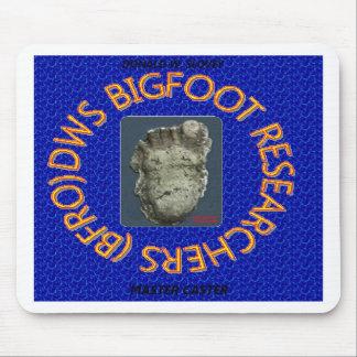 dws bigfoot researchers mouse pad