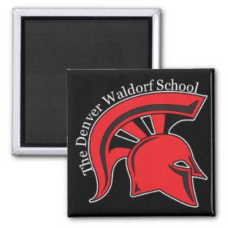 DWS Black Spartans Magnet (square)