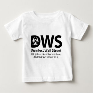 DWS_Disinfect_Wall_Street Baby T-Shirt