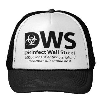 DWS_Disinfect_Wall_Street Gorros Bordados
